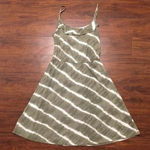 ANN TAYLOR LOFT Tie-dye Dress